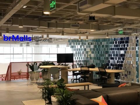 Cubo Retail, a vertical de varejo comandada pela BRMalls dentro do novo Cubo Itáu, em São Paulo. | Divulgação/