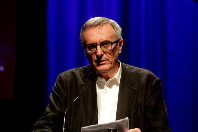 O filósofo britânico John Gray, em evento em São Paulo, em 2015 | Fronteiras do PensamentoWikiMedia Commons