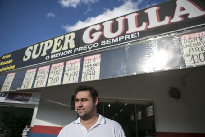 No Super Gula, em Almirante Tamandaré, o destaque são os iogurtes | Marcelo Andrade/Gazeta do Povo