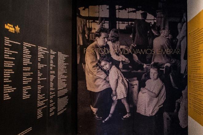 Museu do Holocausto na cidade de Curitiba. Inaugurado em 2011, foi o primeiro do Brasil. | Leticia Akemi/Gazeta do Povo