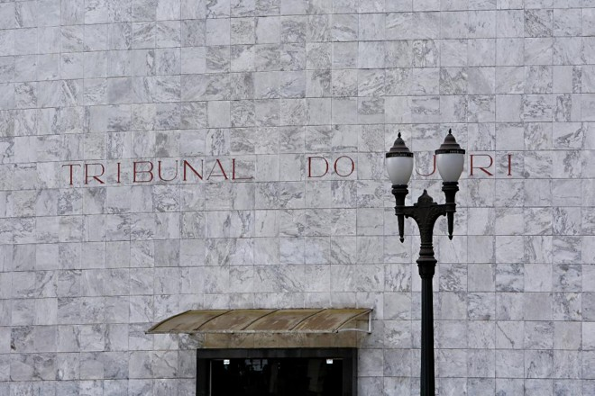 Fachada do Tribunal do Júri de Curitiba. | Alexandre Mazzo/Gazeta do Povo