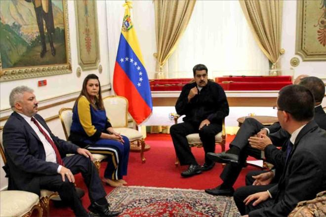 Governadora Suely Campos se reuniu na quinta com o ditador Nicolás Maduro, da Venezuela | Elinaldo Campos/Secom