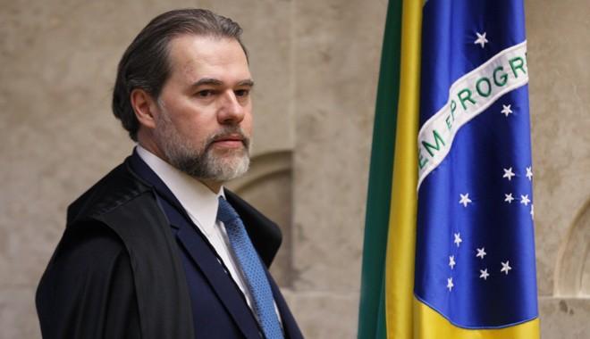 Em discurso sobre a Constituição de 1988, na USP, o presidente do STF Dias Toffoli traçou um histórico dos sistemas políticos | STF/Nelson Júnior
