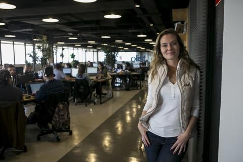 Daiane Peretti, Head de RH da startup curitibana Olist. | Marcelo Andrade/Gazeta do Povo