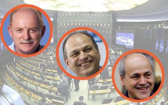 Vermelho, Ricardo Barros e Gustavo Fruet são os três deputados federais do Paraná mais ricos. | /