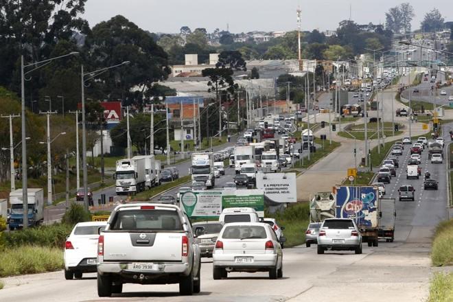 Último trecho da Linha Verde vai custar R$ 69,4 milhões. | Aniele Nascimento/Gazeta do Povo