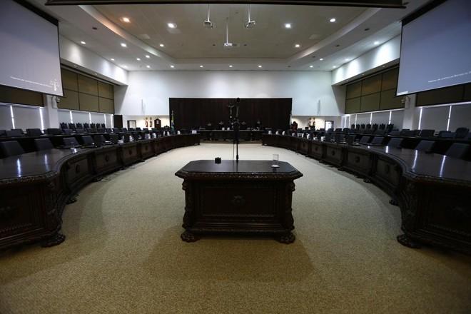Eleições para desembargador acontecem durante sessões convocadas do Pleno, com 120 integrantes. | Jonathan Campos/Gazeta do Povo