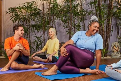 Pessoas se exercitando. | Gympass/Facebook