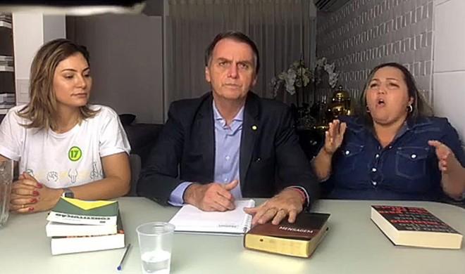 Bolsonaro utilizou lives no Facebook durante a campanha. | Redes Sociais/Divulgação
