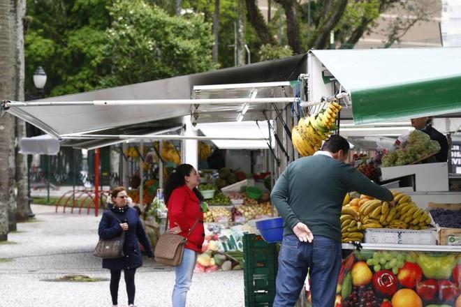 Barracas venderão produção de 1.024 produtores da região de Curitiba. | Aniele Nascimento/Gazeta do Povo