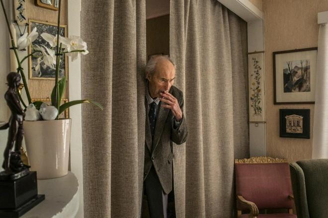 Joachim Ronneberg, oficial aposentado do Exército Norueguês, em sua casa na Noruega, em outubro de 2015 | MAURICIO LIMA/NYT