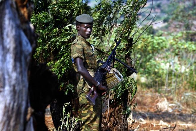 Conflitos armandos têm impedido a recuperação econômica do Burundi, que pretende investir mais de US$ 80 milhões para dobrar a produção de café até 2021. | AFP PHOTO/MARCO LONGARI