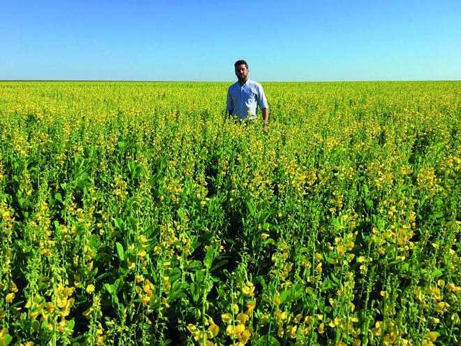 Leonardo gosta do contato com o campo, mas se encanta com as diversas possibilidades da Agronomia | Arquivo pessoal