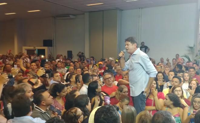 Cid Gomes (foto), irmão de Ciro Gomes, fez duras críticas ao PT | Reprodução/YouTube
