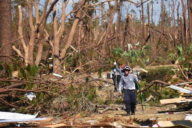 Furacões e tempestades costumam causar muitos estragos todos os anos na região Sul dos Estados Unidos | HECTOR RETAMAL/AFP
