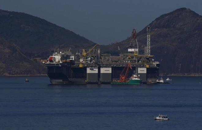 Plataforma de petróleo da Petrobras | Tania Regô/Agência Brasil