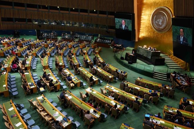 Sessão da Assembleia Geral das Nações Unidas, que terminou nesta segunda | DON EMMERT AFP