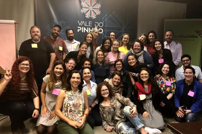 Registro da primeira reunião da Rede Curitibana para Transformação Educacional |