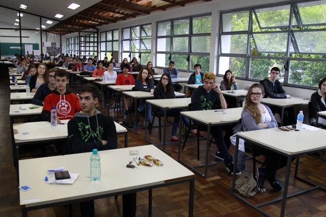 Centro Politécnico (na foto) é um dos maiores locais de prova em Curitiba | Aniele Nascimento/Gazeta do Povo