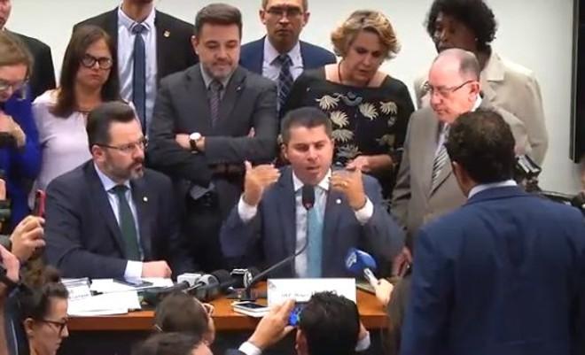Presidente de Comissão, Marcos Rogério (DEM-RO), disse que a reunião será pautada para a próxima semana | Reprodução /YouTube