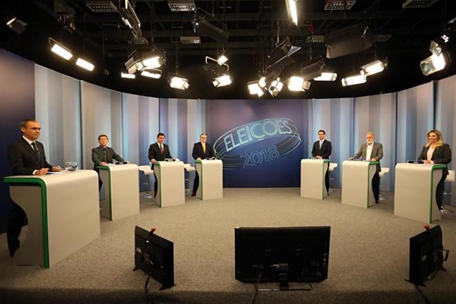 Candidatos participaram nesta semana de debate na RPCTV. | Albari Rosa/Gazeta do Povo