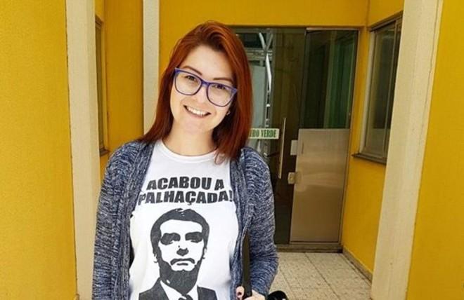 Ana Caroline Campagnolo (PSL-SC), foi eleita no último pleito 34.825 votos | Reprodução/Facebook