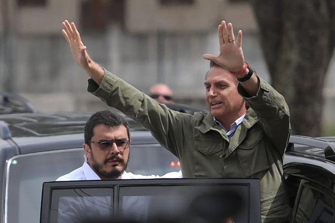 Argentina está preocupada com um possível afastamento do Brasil sob o presidente eleito Jair Bolsonaro (PSL) | CARL DE SOUZA/AFP