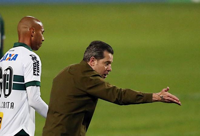 Argel Fucks no jogo do Coritiba contra o Goiás. | Albari Rosa/Gazeta do Povo