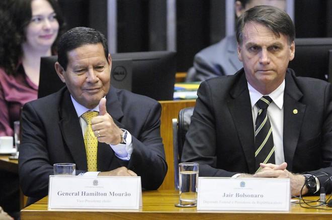 O vice-presidente terá um papel de coordenação no governo Bolsonaro   Alessandro Dantas/Fotos Públicas