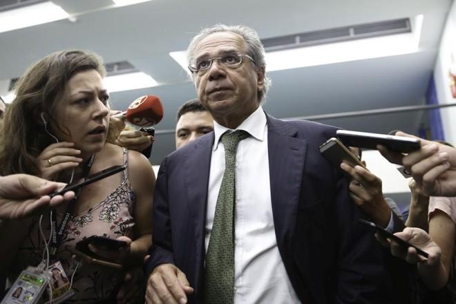 Em seis anos, o economista Paulo Guedes captou R$ 1 bilhão de fundos de pensão geridos por apadrinhados do PT e do PMDB. | Fabio Rodrigues Pozzebom/Agência Brasil