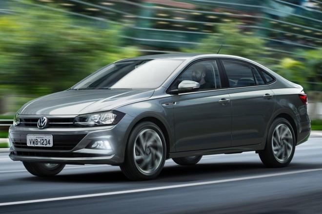 Derivado da nova geração do Polo, o Virtus ocupa o espaço entre Voyage e Jetta.   Volkswagen / Divulgação