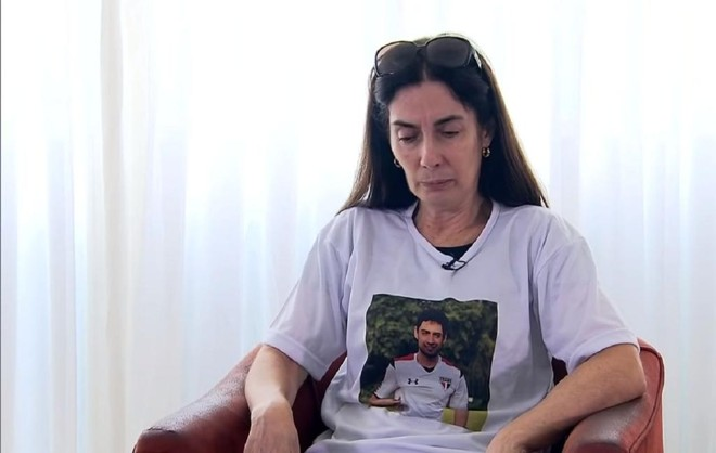 Eliana Aparecida Corrêa, mãe de Daniel, está tendo acompanhamento médico para encarar a morte do filho. | /