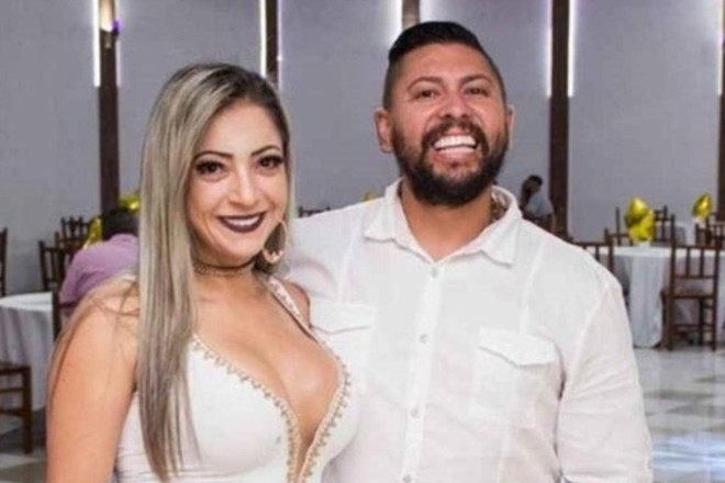 Cristiana e Edison Brittes, detidos pelo assassinato do jogador Daniel Corrêa Freitas. | Reprodução/Facebook