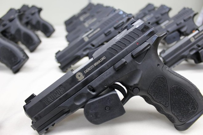 Pistola TH9.   Taurus Armas/Facebook