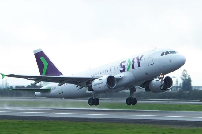 A  primeira rota que começou a ser operada liga a capital Santiago, no Chile, ao Rio de Janeiro, no aeroporto do Galeão. Essa rota será operada cinco vezes por semana com uma aeronave Airbus 320, cuja capacidade é de 186 passageiros. | Foto: Skay Airline Instagram/