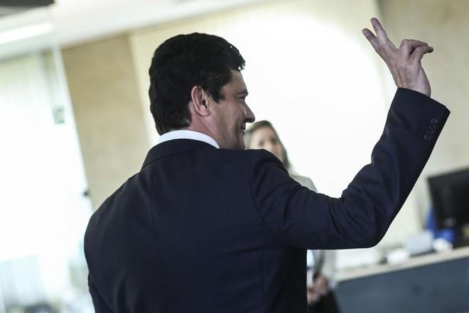 Moro está oficialmente de férias da magistratura e foi para a capital federal para dar início à transição | Antônio Cruz/Agência Brasil