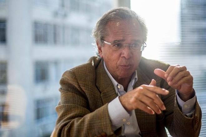 O economista Paulo Guedes, que deverá comandar a equipe econômica do novo governo. | DANIEL RAMALHOAFP