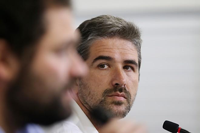 Rodrigo Pastana, executivo doCoritiba. | Albari Rosa/Gazeta do Povo