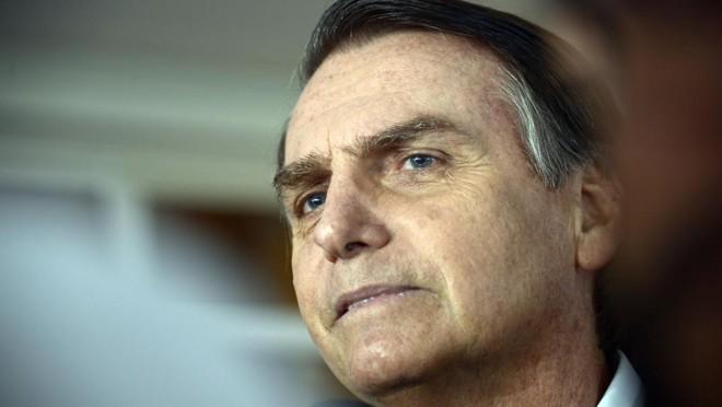 Jair Bolsonaro (PSL) foi eleito presidente da República, no domingo (28), com 55% dos votos. | Tânia Rêgo/Agência Brasil