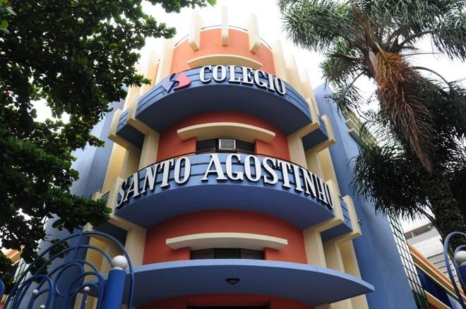 Fachada do Colégio Santo Agostinho, em Belo Horizonte | Divulgação