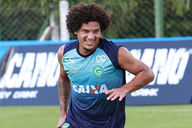 Felipe Gedoz no Goiás. | Goiás/Divulgação