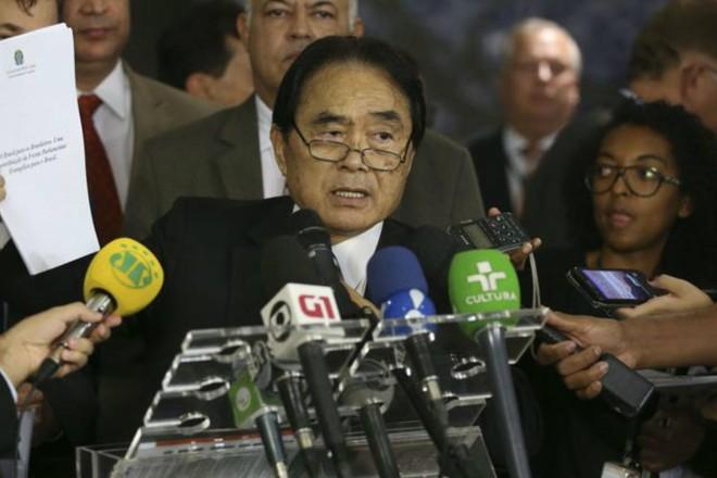 O coordenador da Frente Parlamentar Evangélica, Deputado Takayama | Valter Campanato/Agência Brasil