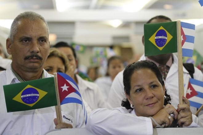 Segundo a Opas, os8.332profissionais cubanos que hoje atuam no programa começam a deixar o Brasil nesta quinta-feira (22). | Karina Zambrana/Ascom MS