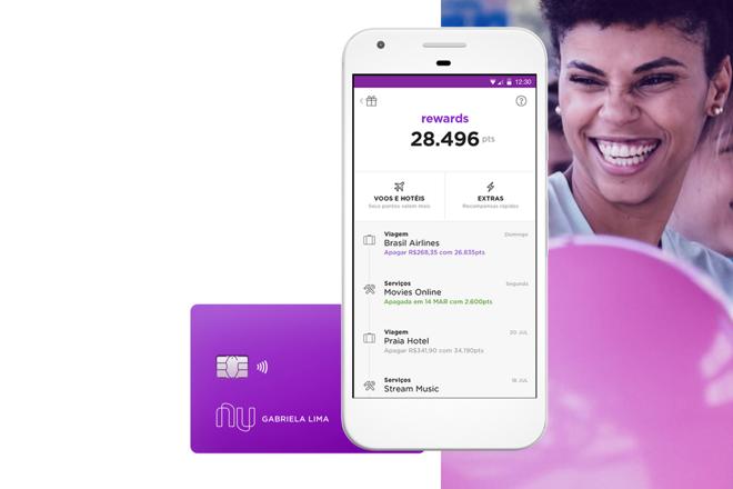 Nubank Rewards ganhou novidades. | Nubank/Reprodução