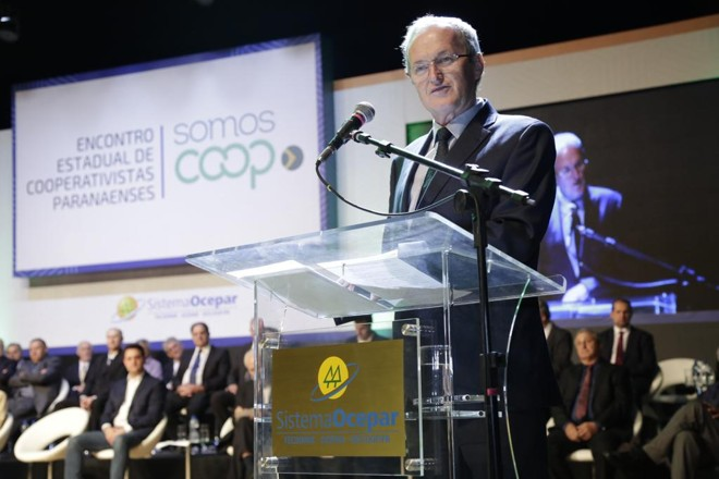 José Roberto Ricke, presidente do Sistema Ocepar | Divulgação/Ocepar