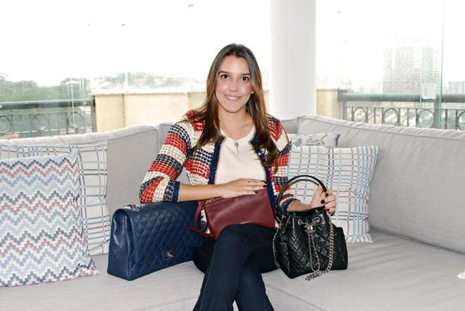 Ao pesquisar esse mercado, Leilane viu que lá fora a venda consignada de produtos de luxo com aval de autenticidade já estava consolidada, mas no Brasil ninguém fazia isso direito. | Ana Carolina Darde/