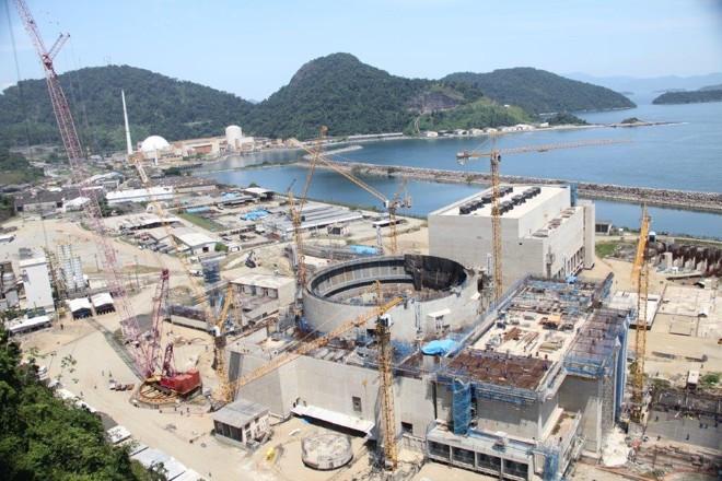 Usina nuclear de Angra 3: ela nunca foi concluída. | Eletrobras/Divulgação