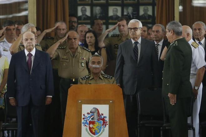 Cerimônia de encerramento da intervenção federal no Rio de Janeiro | Tania RegoAgencia Brasil