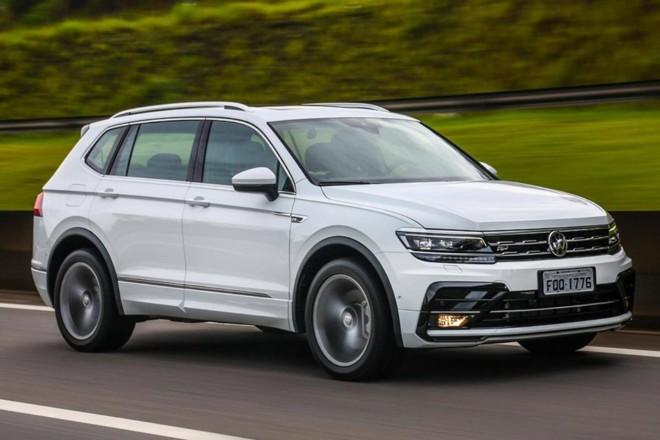 A segunda geração do Tiguan traz a versão RLine, que oferece tração integral e  motor 2.0 turbo do Golf GTI. | Divulgação / Volkswagen