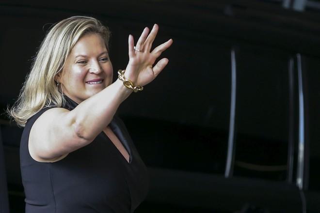 A deputada eleita Joice Hasselmann (PSL-SP) é pivô da briga interna no partido de Bolsonaro. | Valter Campanato/Agência Brasil